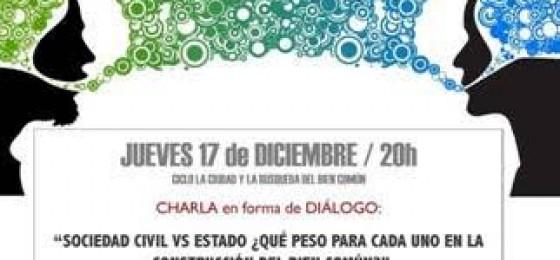 Alicante | Sociedad civil vs Estado: ¿qué peso para cada uno en la construcción del bien común?