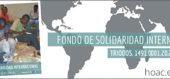 El Fondo de Solidaridad Internacional financia ocho proyectos en 2016