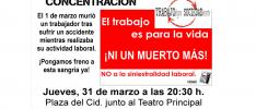 Burgos: Nueva concentración