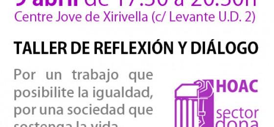 Valencia | Taller «Por un trabajo que posibilite la igualdad, por una sociedad que sostenga la vida»