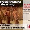 Valencia | Celebración cristiana del Primero de Mayo