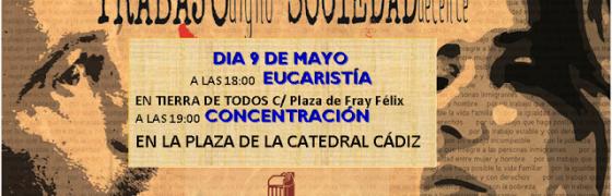 Cádiz   Eucaristía y concentración por el trabajo digno en el día de la HOAC