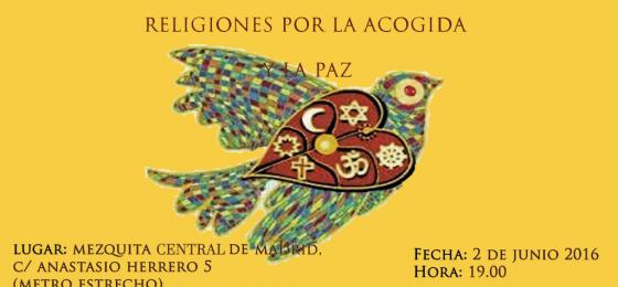Madrid: Acto interreligioso por la paz y la acogida