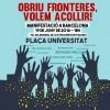 Barcelona | La HOAC se suma a la manifestación «Abrir fronteras, ¡queremos acoger!»