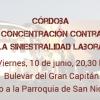 Córdoba: Solidaridad con las víctimas del accidente de tráfico (y de trabajo)