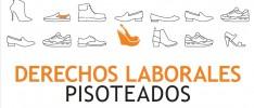 Derechos laborales pisoteados… en la industria mundial del calzado