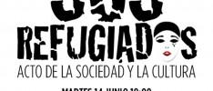 La HOAC asiste al Acto de la Sociedad y la Cultura #SOSRefugiados #RefugioporDerecho