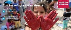 Con los refugiados en Grecia