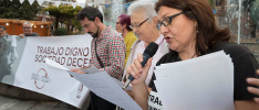 Jaén: Círculo de Silencio a favor del trabajo decente también para personas inmigrantes