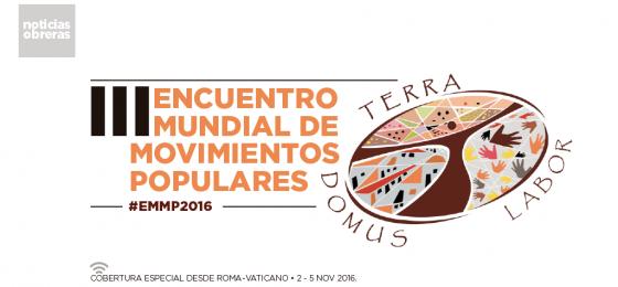 Presentación del III Encuentro Mundial de Movimientos Populares en el Vaticano #EMMP2016