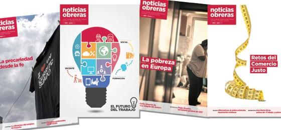 Campaña de promoción de la revista Noticias Obreras #TantoxTanPoco #SúmateaNNOO