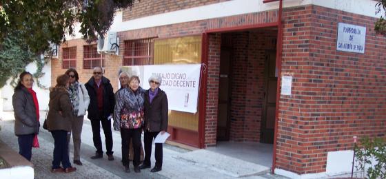 """HOAC Granada: Continúa la campaña """"Trabajo digno para una sociedad decente"""""""