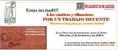 La Rioja: Cánticos y villancicos por un trabajo digno