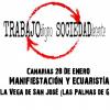 Canarias: Manifestación y ecuaristía por un trabajo digno