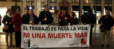 Málaga: «El trabajo es para la vida. ¡Ni un muerto más!
