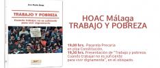 """Málaga: Presentación de """"Trabajo y pobreza"""""""