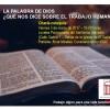 Valladolid: El trabajo en la Biblia