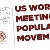 Charo Castelló, copresidenta del MMTC, participa en el I Encuentro de Movimientos Populares de EEUU #USWMPM