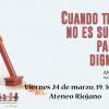 """La Rioja: Presentación de """"Cuando trabajar no es suficiente para vivir dignamente"""""""