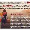 Orihuela-Alicante: Presentación de la HOAC