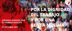 El Movimiento Mundial de Trabajadores Cristianos ante la Jornada por el Trabajo Decente