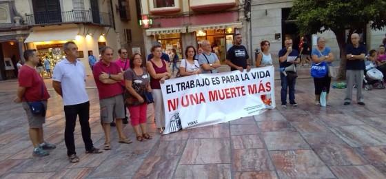 Málaga | Concentración contra la siniestralidad laboral