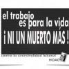 Vitoria: Concentración silenciosa en solidaridad con la última víctima de accidente laboral