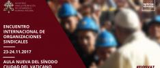 El papa Francisco convoca a los sindicatos para abordar conjuntamente los desafíos del trabajo