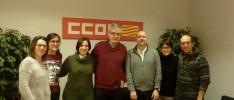 Encuentro de la HOAC de Zaragoza con CCOO de Aragón