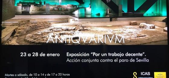 Sevilla | Exposición «Por un #trabajodecente»