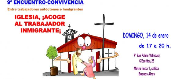 Madrid: Iglesia ¡Acoge al trabajador inmigrante!