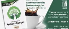 """Madrid   Café-tertulia: """"La economía de las Bienaventuranzas"""""""