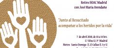 """Madrid    """"Junto al Resucitado, acompañar a los heridos por la vida"""""""