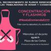 Madrid   Por los derechos de las empleadas de hogar y de cuidados