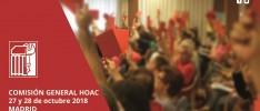 La Comisión General dialoga sobre las próximas tareas de la misión de la HOAC