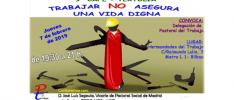 Madrid   Trabajar no asegura una vida digna