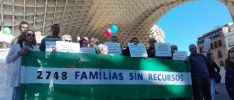 Andalucía | Barrios Ignorados se moviliza para reclamar que la renta mínima llegue a las familias empobrecidas