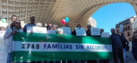 Andalucía   Barrios Ignorados se moviliza para reclamar que la renta mínima llegue a las familias empobrecidas