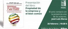 Bilbao | Presentación del libro «Propiedad de la empresa y bien común»