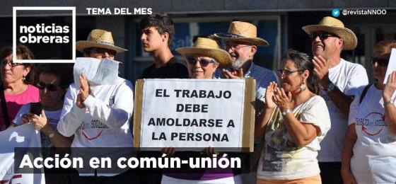 Tema del mes | La acción en común-unión