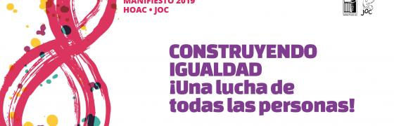 #8M #ConstruyendoIgualdad Convocatorias y contenidos