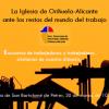 Orihuela-Alicante | La Iglesia ante los retos del mundo del trabajo