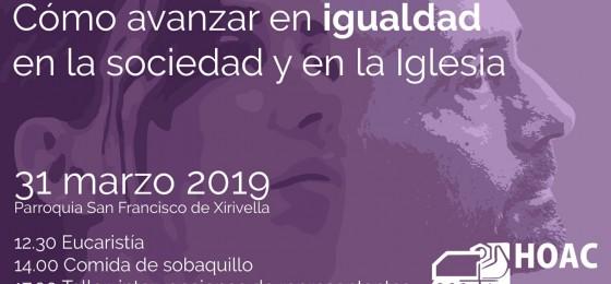 Valencia | Cómo avanzar en igualdad en la sociedad y en la Iglesia