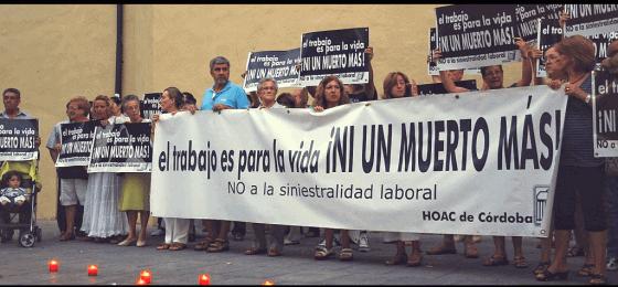 Córdoba | La HOAC convoca una concentración por la muerte de tres trabajadores