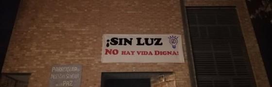 Granada | Sacerdotes del arciprestazgo de Cartuja denuncian los cortes de luz que afectan a miles de familias trabajadoras