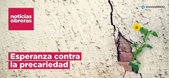 Noticias Obreras | Esperanza contra la precariedad