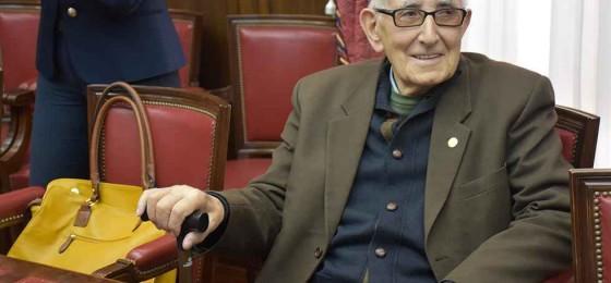 Soria | Gregorio Alonso, militante de la HOAC, recibe el Premio Valores Humanos
