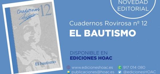 «El bautismo», nuevo cuaderno de Rovirosa