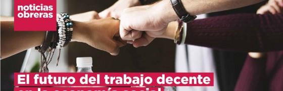 Noticias Obreras | El futuro del trabajo decente en la economía social