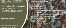 Cursos de Verano. Agenda del día | 18.07.2019